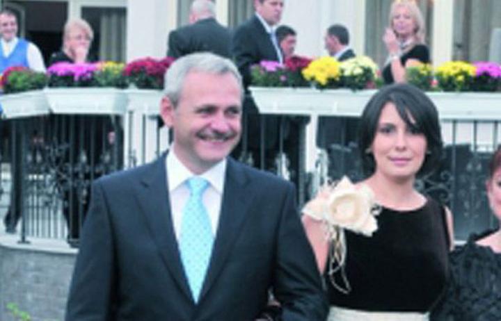 foto 1 dragnea si sotia Bombonica isi scapa fostul