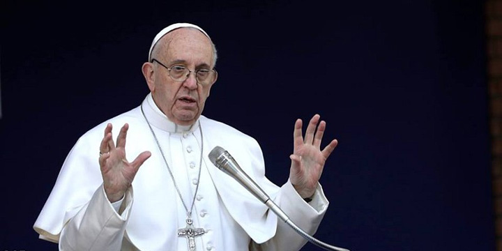 "fraromatre17 Papa Francisc ""a gasit"" un pacat foarte grav!"