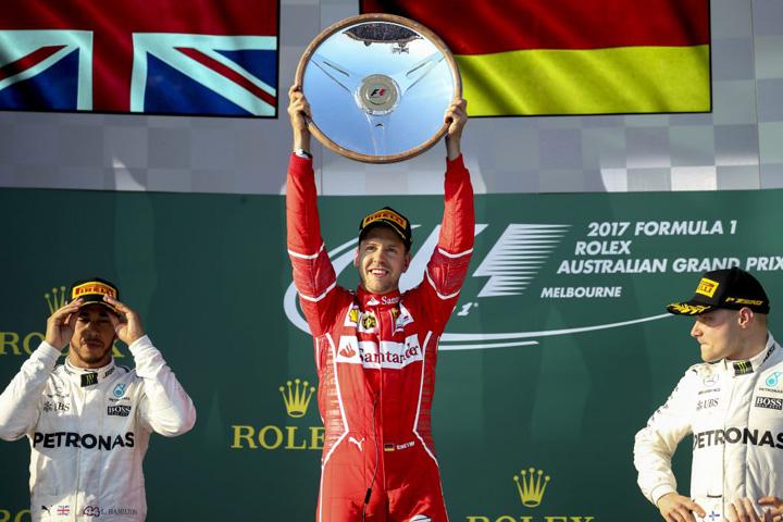 h 53411474 1 1024x683 F1: Sebastian Vettel a castigat Grand Prix ul Australiei