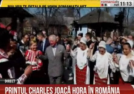 hora 2 Printul Charles, incantat de vizita la Muzeul Satului