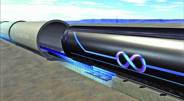 hyperloop3 Romanul care a inventat trenul viitorului