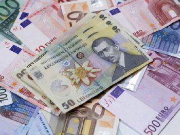 leu euro 350x263 Curs BNR. Euro creste, miercuri, la 4,6198 lei