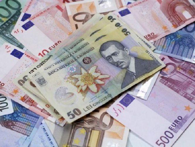leu euro 665x500 Nou nivel record: euro a depasit 4,67 lei