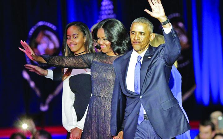 obama Barack si Michelle fac 65 de milioane de dolari din pix