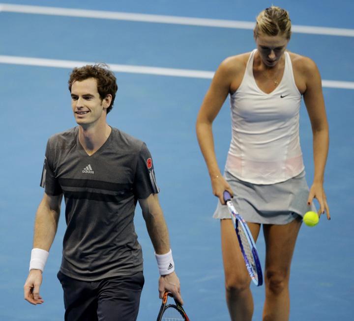 phphLu0f6 Andy Murray se da la Sarapova