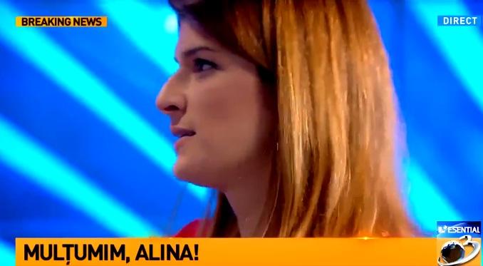 plecare alina p Plecarea Alinei Petrescu de la Antena 3 s a lasat cu lacrimi si o surpriza. Mesajul jurnalistei