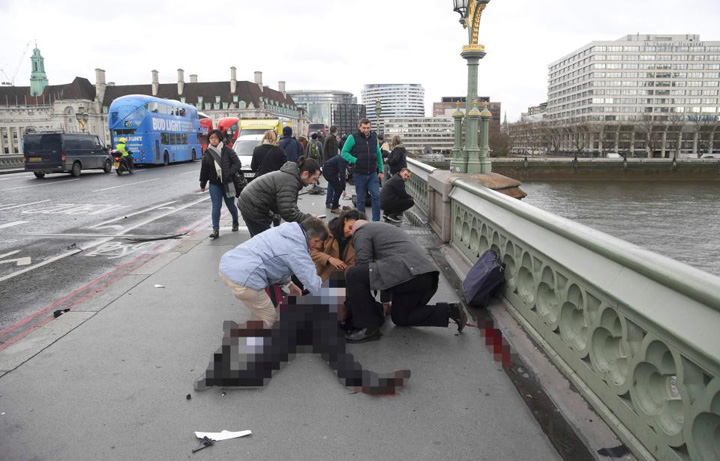 pod Terorismul loveste inima Londrei
