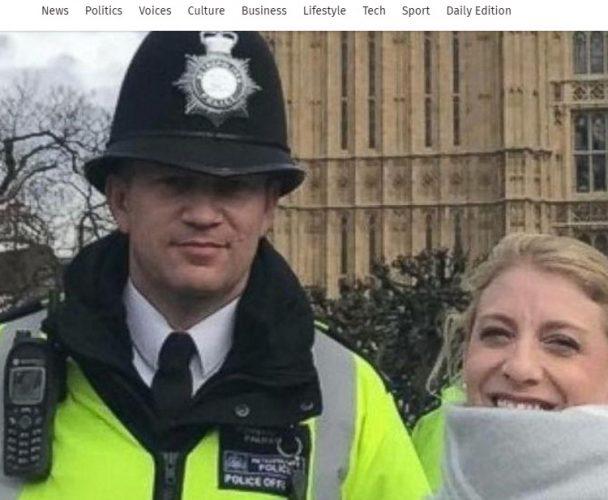poza 608x500 Amanuntele impresionante din spatele ultimei fotografii cu politistul ucis la Londra