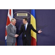 print guv Printul de Wales, discutii cu premierul, la Palatul Victoria (VIDEO)