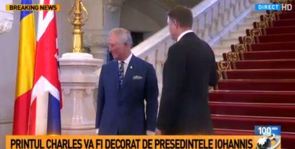 printul 5 Printul Charles, in vizita oficiala in Romania. A ajuns la Cotroceni