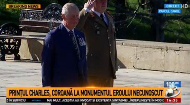 printul Printul Charles, in vizita oficiala in Romania. A ajuns la Cotroceni