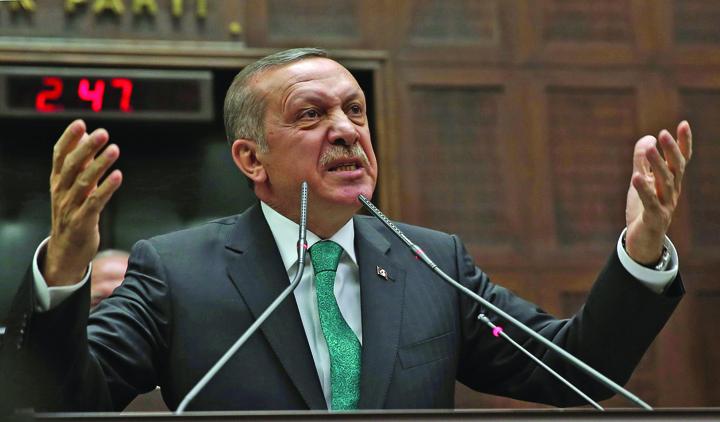 recepmad Erdogan: Europenii nu vor mai fi in siguranta pe strada