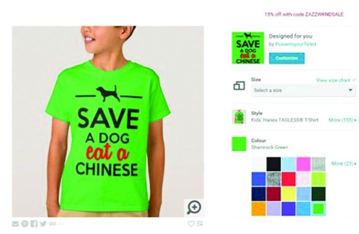save a dog5 Salveaza un caine, mananca un chinez!. Un retailer german de imbracaminte, fortat sa si ceara scuze