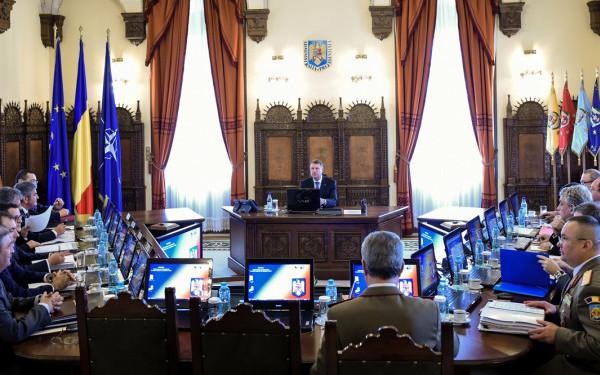 sedinta Sedinta CSAT cu privire la mandatul pentru Summitul NATO