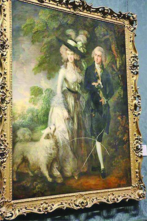 tablou 2 Impostorul senil care a distrus cu o surubelnita un tablou de 10 milioane de lire