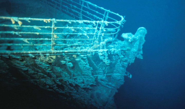 titanic Epava Titanicului va fi mancata