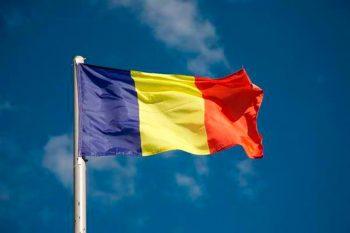 """tricolor 350x233 """"Un drapel pentru fiecare"""", de Centenar, de la sediul Primariei sectorului 1"""