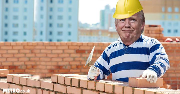 trump 3 Lafarge da cimentul pentru zidul lui Trump