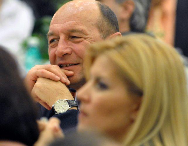 udrea basescu 643x500 Basescu, prima reactie dupa decizia primita de Udrea in Gala Bute. Ce ii recomanda