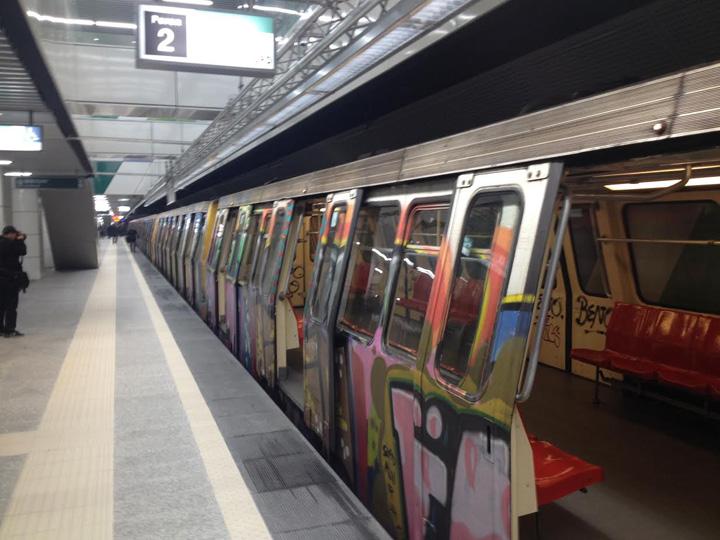 04. Inaugurarea statiilor de metrou Laminorului si Straulesti Cat a incasat Metrorex din publicitate