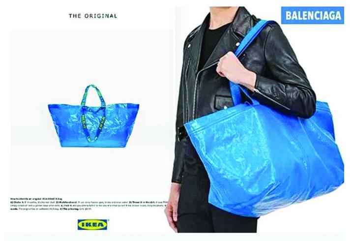 1 3 Reactia IKEA dupa ce Balenciaga i a copiat celebra sacosa albastra de cumparaturi