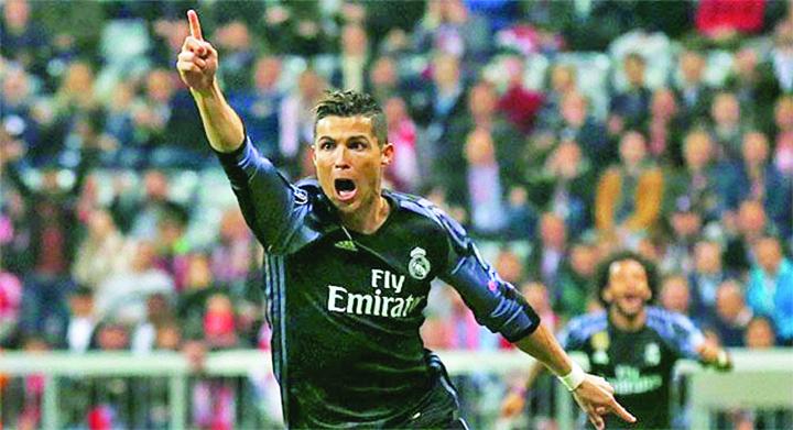13ronaldo Ronaldo, 100 de goluri in cupele europene