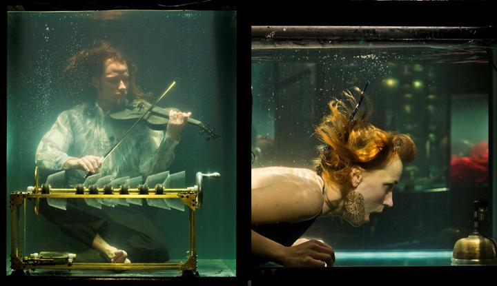 3cfdae586c4d5fb22e8fe59c77c22d25 Concert în acvariu!