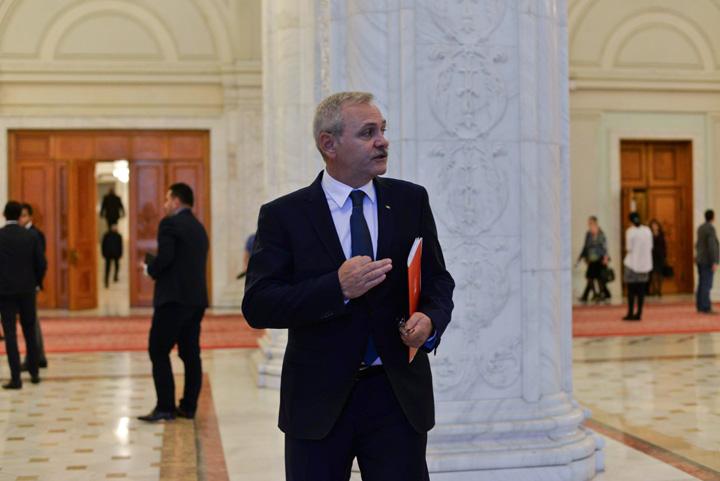 Liviu Dragnea PSD LM 2151 Liderul PSD, fugarit de Soros pe Calea Victoriei
