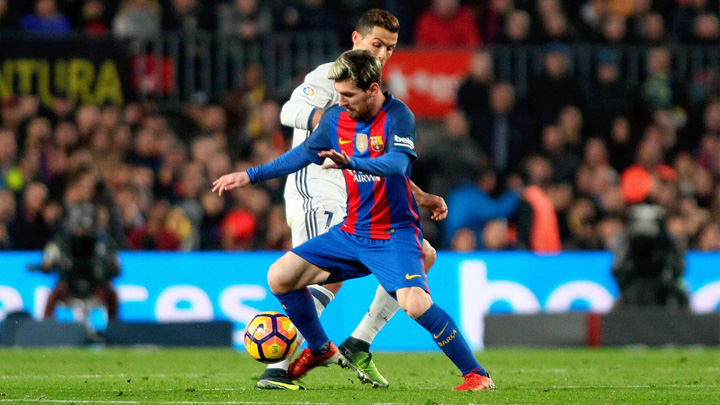 Messi Ronaldo Lionel Messi incendiaza La Liga!