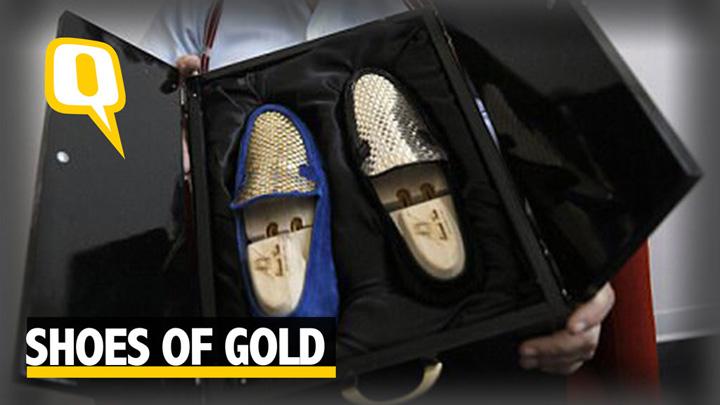 Pantofi aur Au aparut si pantofii de aur