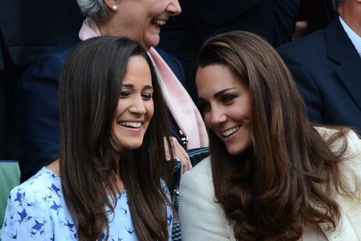 Pippa cu Kate Pippa Middleton se marita