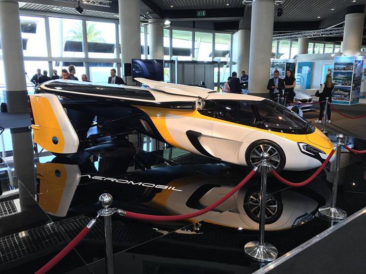 aeromobil Supercars si masini zburatoare la Monaco