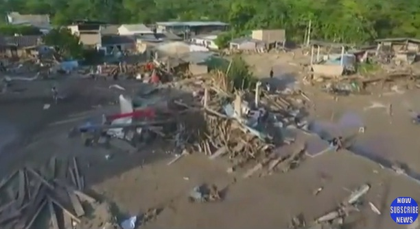 alunecari Dezastru in urma unor alunecari de teren: peste 250 de morti, in Columbia (VIDEO)