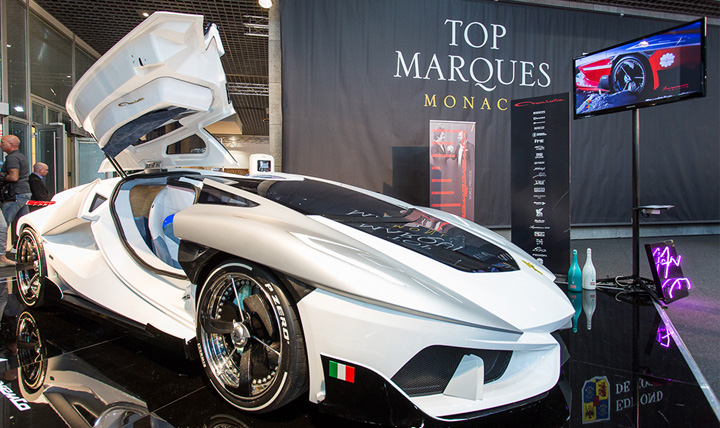 astante Supercars si masini zburatoare la Monaco