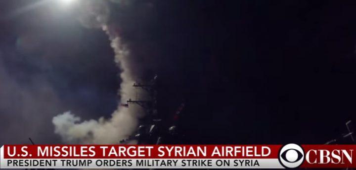 ata 720x345 SUA a lansat rachete asupra unei baze aeriene din Siria, dupa atacul cu arme chimice