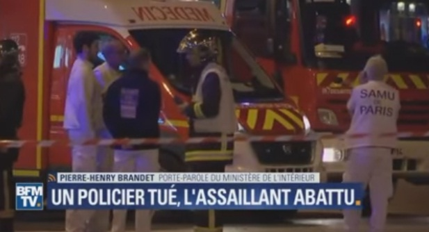 atac 2 Focuri de arma in inima Parisului: un mort si doi raniti (VIDEO)
