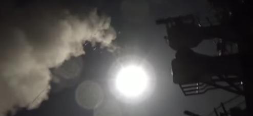 atac222 Prima reactie a Rusiei dupa atacul SUA asupra bazei aeriene din Siria