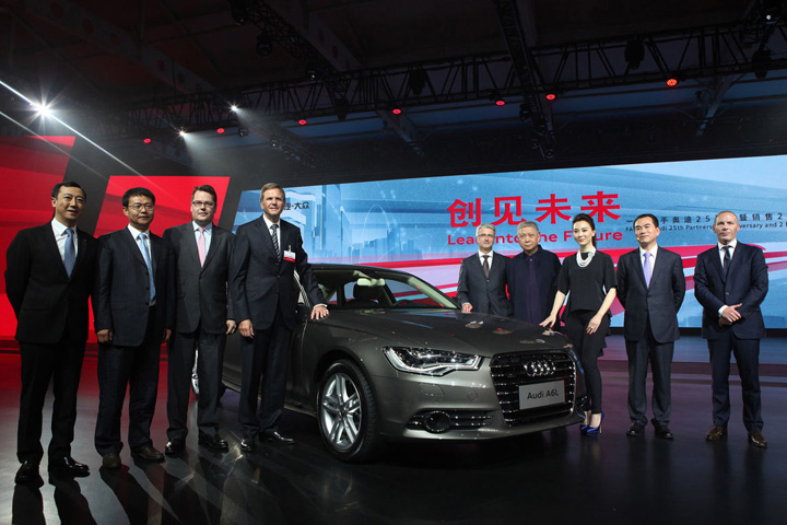 audi china Piata limuzinelor va exploda in China