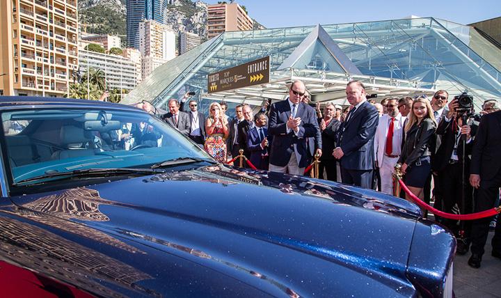 bentley 1 Supercars si masini zburatoare la Monaco