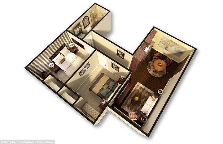 bunker 2 Lux postatomic: bunker de 17, 5 milioane de dolari