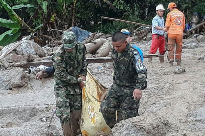 columbia1 Catastrofa in Columbia, peste 250 de morti