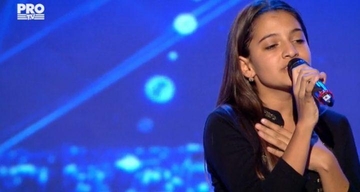 doinita 720x385 Doinita a ales sa urce pe scena Romanii au talent cu piesa Je taime (VIDEO)
