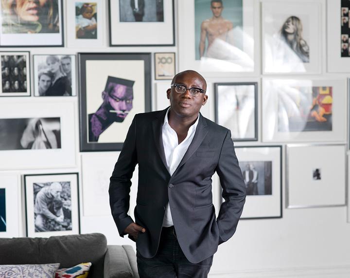 edwardeinninful Premiera: un barbat la conducerea  Vogue!