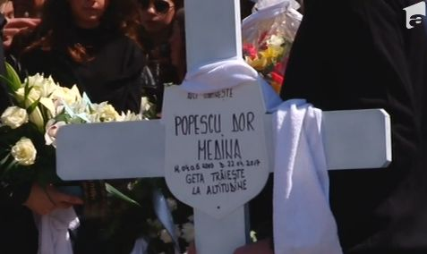 geta 1 Dor Geta Popescu isi doarme somnul de veci in cimitirul din Rasnov