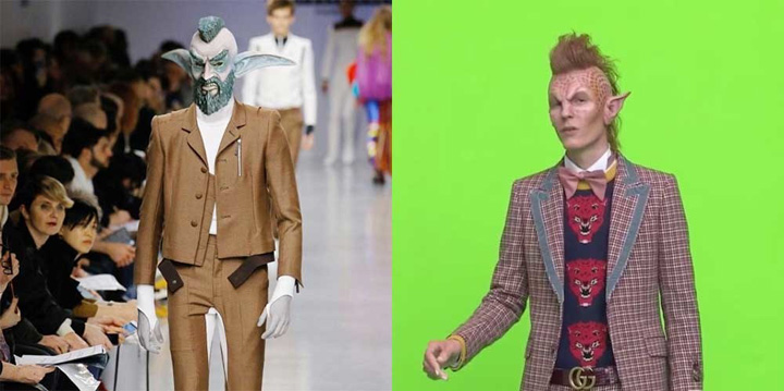guccialiens Copy Gucci pariaza pe extraterestri