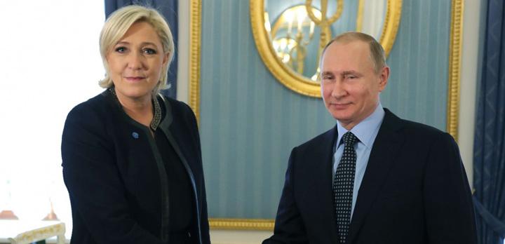 le pen 1 Putin, ultima speranta pentru Le Pen