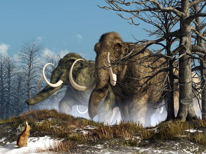 mamuţi De Ziua Pamantului, poti vedea gratis mamutii radioactivi