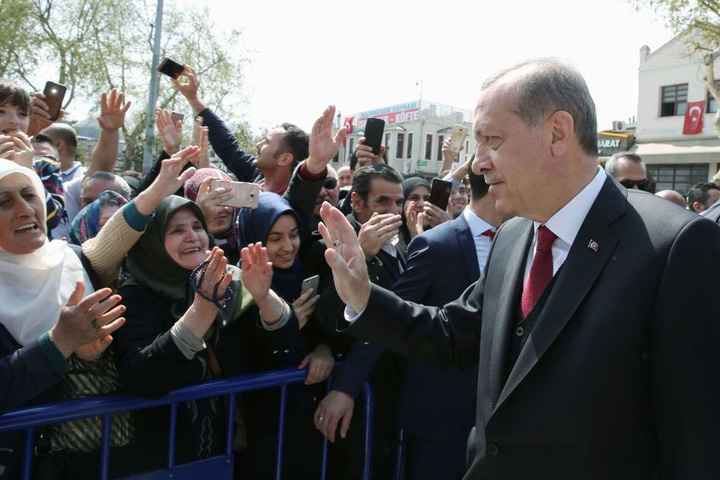 recep 1 Erdogan, noul sultan