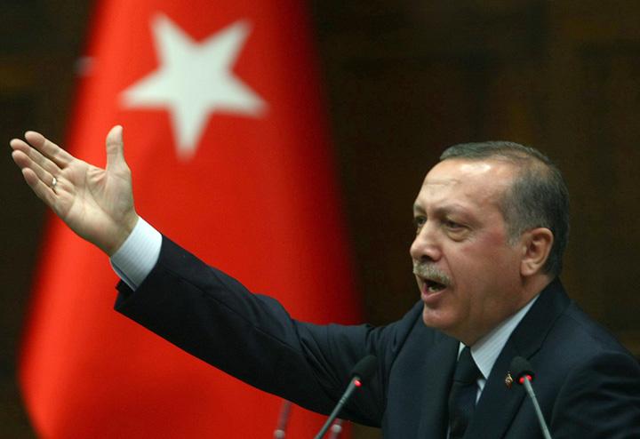 recep Marele zid turcesc e gata, urmeaza megamoscheea lui Erdogan