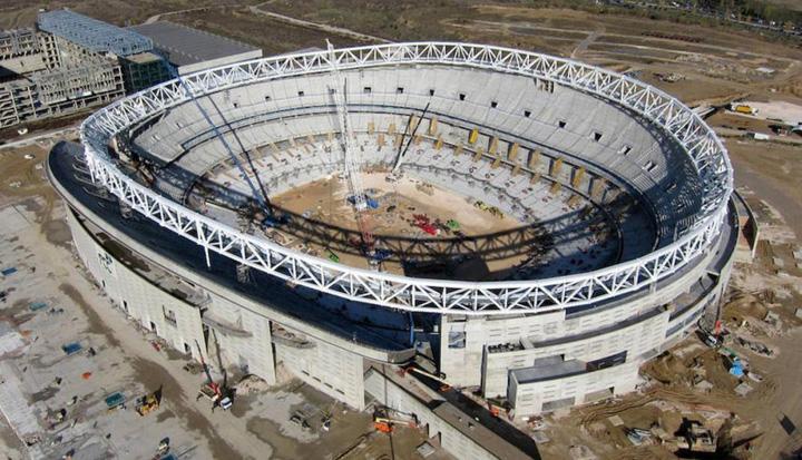 stadionjpg Noul stadion al Atletico Madrid e o bijuterie